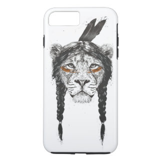 Coque iPhone 8 Plus/7 Plus Lion de guerrier