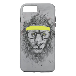 Coque iPhone 8 Plus/7 Plus Lion de hippie