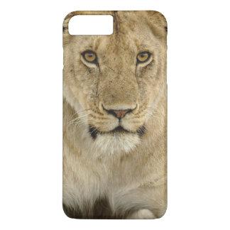 Coque iPhone 8 Plus/7 Plus Lion, Panthera Lion, parc national de Serengeti,
