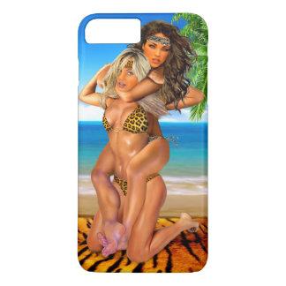 Coque iPhone 8 Plus/7 Plus Lutteurs rusés de jungle