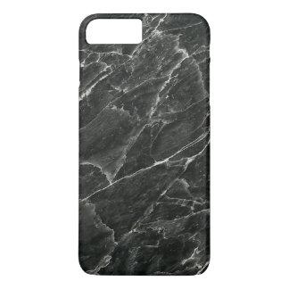 Coque iPhone 8 Plus/7 Plus Marbre noir