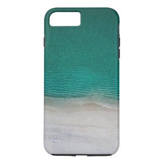 Coque iPhone 8 Plus/7 Plus Mer tropicale de turquoise de plage