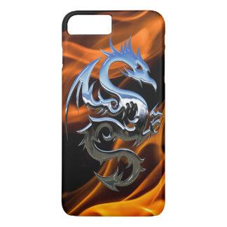Coque iPhone 8 Plus/7 Plus Mettez le feu à l'iPhone X/8/7 de dragon plus à
