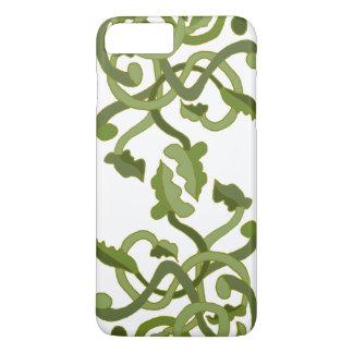 Coque iPhone 8 Plus/7 Plus Monde naturel de nature de vert olive de vignes