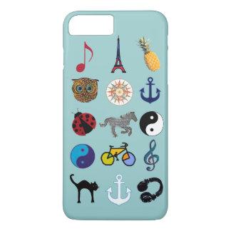 Coque iPhone 8 Plus/7 Plus motif coloré girly extraordinaire