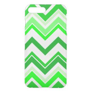 Coque iPhone 8 Plus/7 Plus Motif de Chevron de vert de chaux