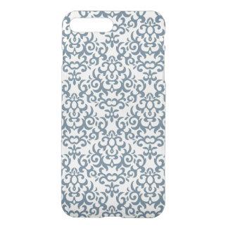 Coque iPhone 8 Plus/7 Plus Motif de damassé sur l'arrière - plan 2 de