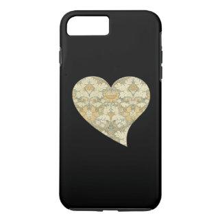 Coque iPhone 8 Plus/7 Plus Motif floral par William Morris dans le coeur