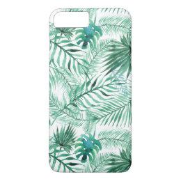 iphone 8 coque feuille de palmier