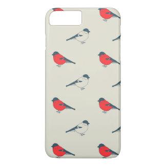 Coque iPhone 8 Plus/7 Plus motif vintage avec des oiseaux