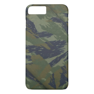 Coque iPhone 8 Plus/7 Plus Motif vintage de jungle de camouflage