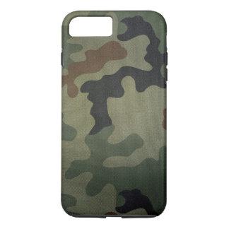 Coque iPhone 8 Plus/7 Plus Motif vintage de style de camouflage