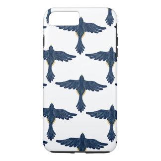 Coque iPhone 8 Plus/7 Plus MOUCHE, ROBIN, MOUCHE ! ~ (d'oiseau)