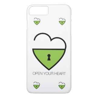 Coque iPhone 8 Plus/7 Plus Ouvrez votre coeur