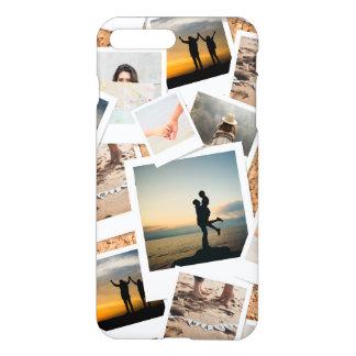 Coque iPhone 8 Plus/7 Plus Panneau de photo de liège de Faux des mémoires