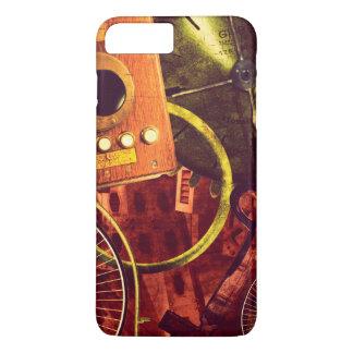 Coque iPhone 8 Plus/7 Plus Papier peint vintage de Steampunk