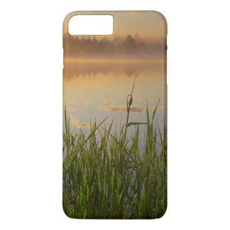 Coque iPhone 8 Plus/7 Plus Parc d'état des Etats-Unis, Idaho, lac winchester,