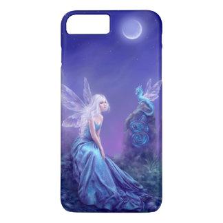Coque iPhone 8 Plus/7 Plus Peinture luminescente de fée et de dragon
