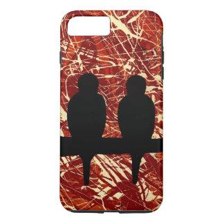 COQUE iPhone 8 PLUS/7 PLUS PERRUCHES : LES RESTES DU ~ DE JOUR
