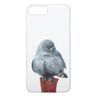 Coque iPhone 8 Plus/7 Plus Petit oiseau gris