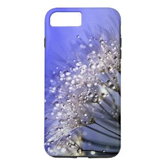 Coque iPhone 8 Plus/7 Plus Pissenlit bleu