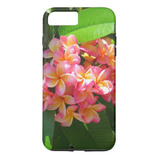 Coque iPhone 8 Plus/7 Plus Plumeria hawaïen