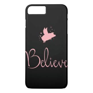 Coque iPhone 8 Plus/7 Plus Porc de Croire-Vol