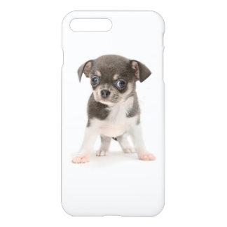 Coque iPhone 8 Plus/7 Plus Position de chiot de chiwawa de l'arrière - plan