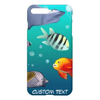 Coque iPhone 8 Plus/7 Plus Scène sous-marine