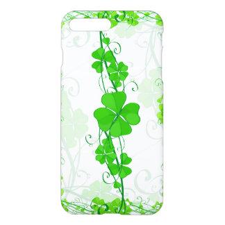 Coque iPhone 8 Plus/7 Plus Shamrock chanceux vert