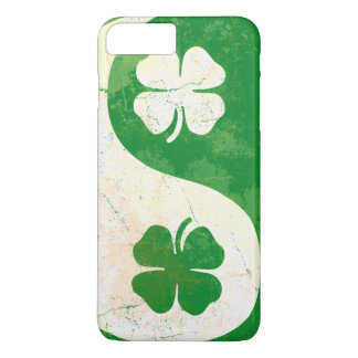 Coque iPhone 8 Plus/7 Plus Shamrock irlandais Yin Yang