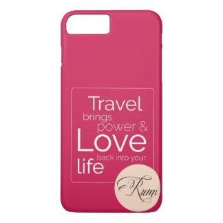 Coque iPhone 8 Plus/7 Plus Si le voyage est votre amour, son pour vous !