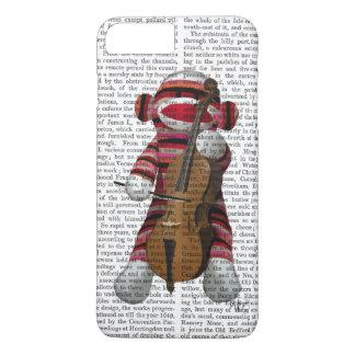 Coque iPhone 8 Plus/7 Plus Singe et violoncelle de chaussette