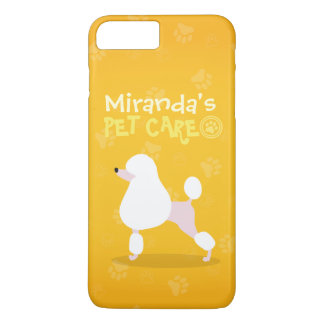 Coque iPhone 8 Plus/7 Plus Soin des animaux familiers reposant l'illustration