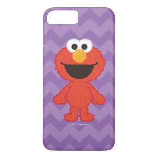 Coque iPhone 8 Plus/7 Plus Style de laine d'Elmo