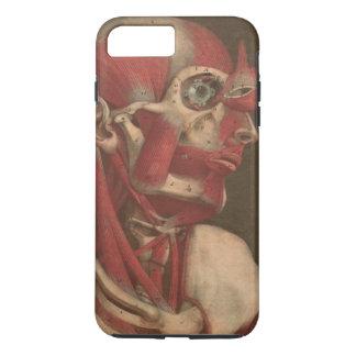Coque iPhone 8 Plus/7 Plus Tête vintage, cou, et épaules de l'anatomie |