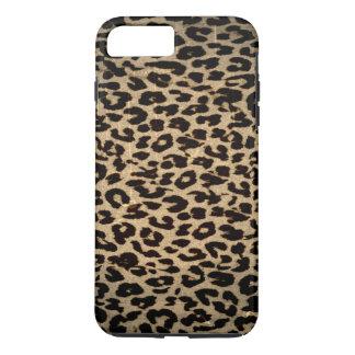Coque iPhone 8 Plus/7 Plus Texture animale vintage de léopard