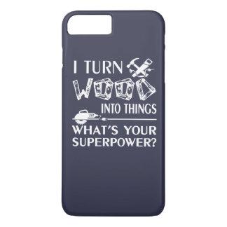 Coque iPhone 8 Plus/7 Plus Travail du bois