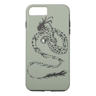 Coque iPhone 8 Plus/7 Plus Tribal de dragon