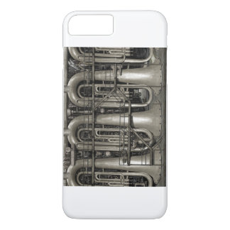Coque iPhone 8 Plus/7 Plus Usine de musique de Steampunk