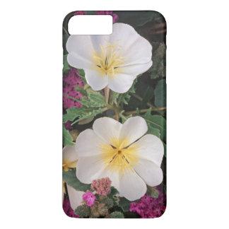 Coque iPhone 8 Plus/7 Plus Verveine d'oenothère biennale de désert et de