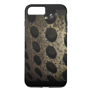 Coque iPhone 8 Plus/7 Plus Vieux cas de téléphone portable en métal