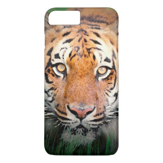 Coque iPhone 8 Plus/7 Plus Yeux de cas plus de l'iPhone 7 de tigre