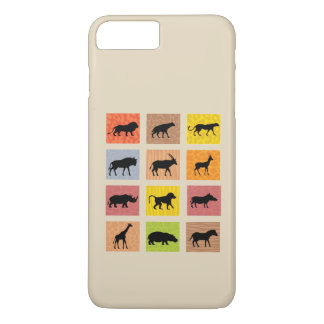 Coque iphone africain d'animaux