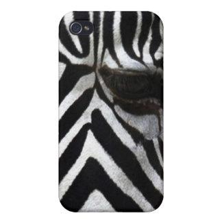Coque iphone africain de faune de cheval d'oeil de