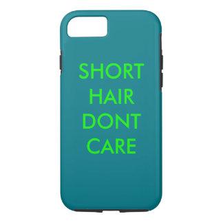 coque iphone avec la citation de cheveux courts