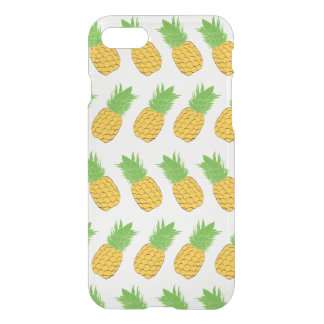 Coque iphone clair d'ananas