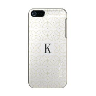 Coque iphone classique décoré d'un monogramme de