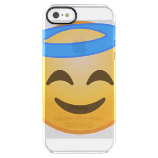Coque iPhone Clear SE/5/5s Ange de sourire Emoji