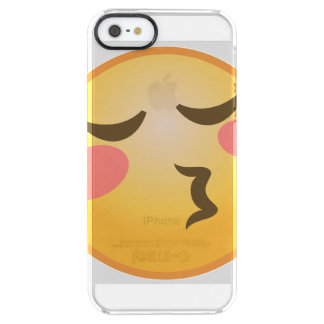 Coque iPhone Clear SE/5/5s Baisers d'Emoji